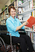 Disabled Librarian