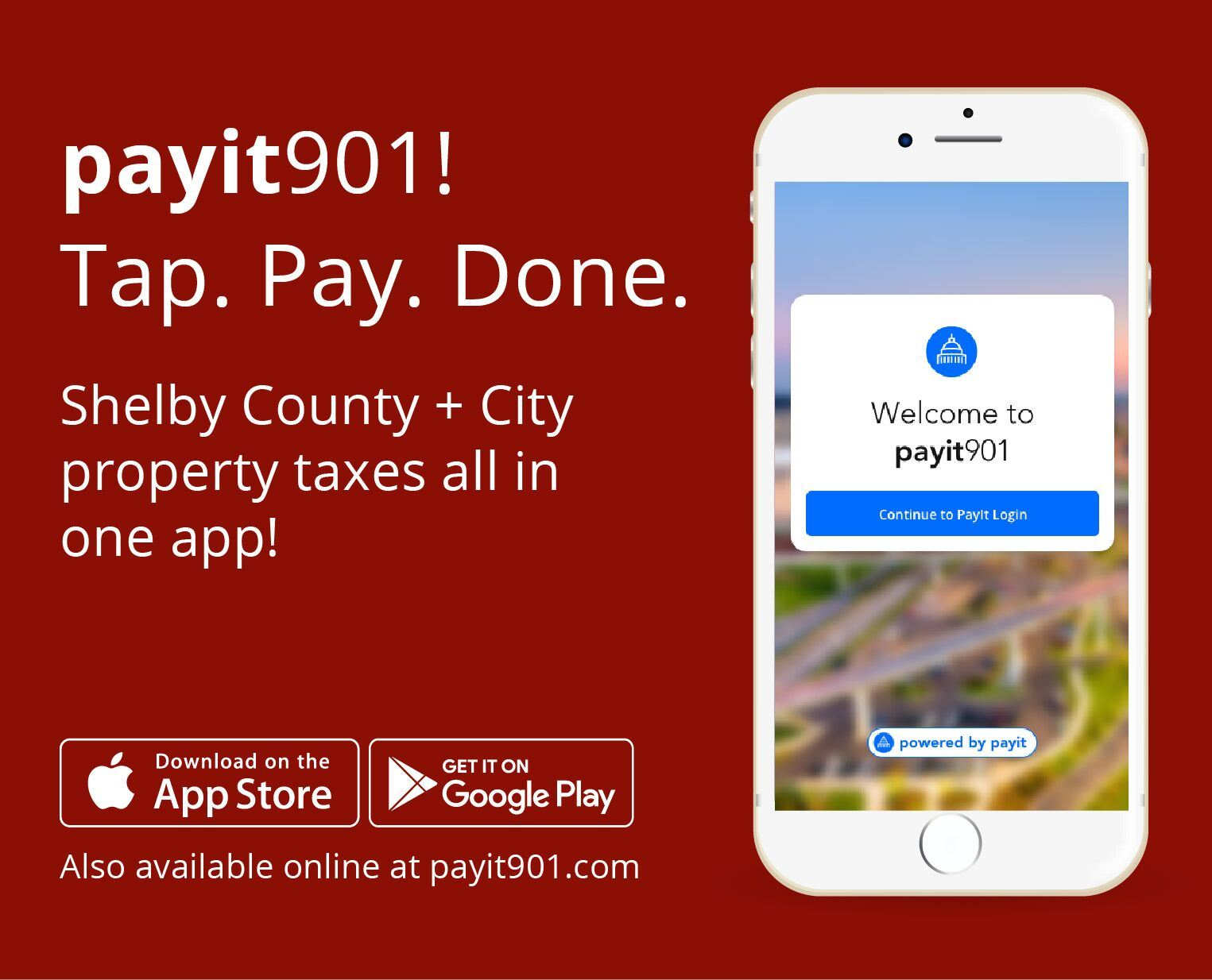 Payit901 - Tap. Pay. Done.